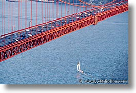 bridge, california, close, golden gate, golden gate bridge, horizontal, national landmarks, san francisco, west coast, western usa, photograph