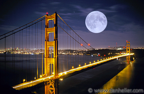 San Francisco Full Moon