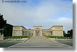 california, entry, horizontal, legion of honor, museums, san francisco, west coast, western usa, photograph