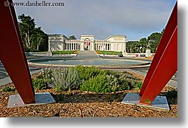 arts, california, horizontal, legion of honor, museums, san francisco, sculptures, steel, west coast, western usa, photograph