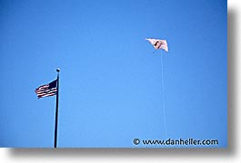 barbie, california, flags, horizontal, san francisco, west coast, western usa, photograph