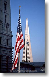 california, flags, san francisco, trans, vertical, west coast, western usa, photograph