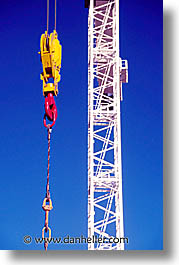 california, crane, san francisco, vertical, west coast, western usa, photograph