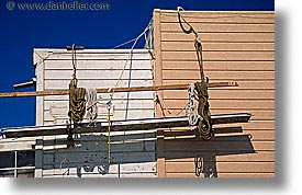 california, horizontal, painters, san francisco, scaffolds, west coast, western usa, photograph