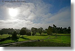 california, golf course, horizontal, san francisco, west coast, western usa, photograph
