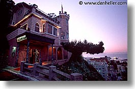 california, castles, horizontal, julius, nite, san francisco, west coast, western usa, photograph