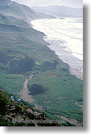 bay, california, fort, funston, ocean, san francisco, vertical, west coast, western usa, photograph