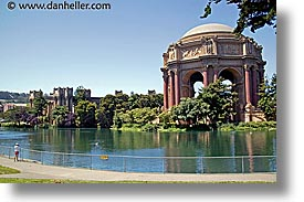 california, horizontal, lauren, palace, palace of fine art, pond, san francisco, west coast, western usa, photograph