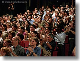audience, california, full, horizontal, people, san francisco, west coast, western usa, photograph