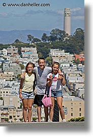 allie, california, chase, indy kids, lindsay, people, san francisco, vertical, west coast, western usa, photograph