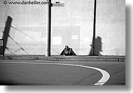 california, homeless, horizontal, men, people, san francisco, vanness, west coast, western usa, photograph