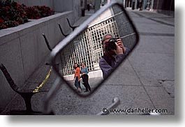 california, horizontal, men, people, reflect, san francisco, west coast, western usa, photograph
