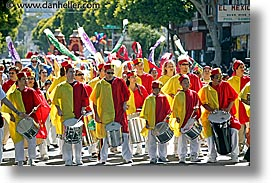 california, carnival, horizontal, mc drummers, people, private industry counsel, san francisco, west coast, western usa, youth opportunity, photograph
