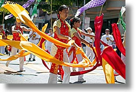 california, carnival, chinese, dance, horizontal, people, private industry counsel, ribbons, san francisco, west coast, western usa, youth opportunity, photograph