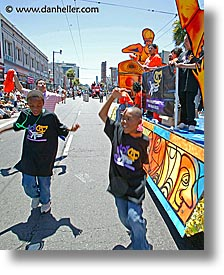 california, carnival, childrens, dancing, people, private industry counsel, san francisco, vertical, west coast, western usa, yo sf, youth opportunity, photograph