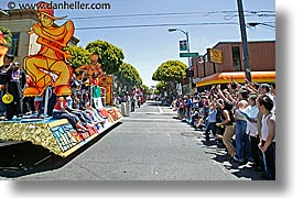 california, carnival, crowds, floats, horizontal, people, private industry counsel, san francisco, west coast, western usa, yo sf, youth opportunity, photograph