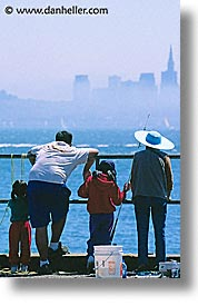 california, families, familyfishing, fishing, fog, people, piers, san francisco, vertical, west coast, western usa, photograph