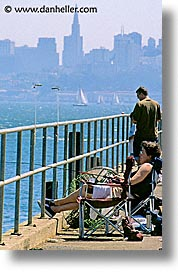 california, lazyfishing, people, san francisco, vertical, west coast, western usa, photograph