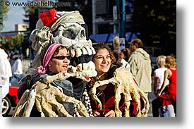 california, horizontal, people, pirates, san francisco, skeleton, west coast, western usa, photograph