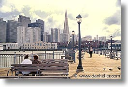 california, embarcadero, horizontal, piers, san francisco, west coast, western usa, photograph