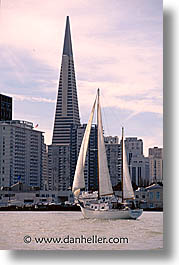 california, sailboats, san francisco, surfing, vertical, west coast, western usa, photograph