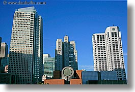 buildings, california, cityscapes, horizontal, san francisco, sf moma, west coast, western usa, yerba buena, photograph