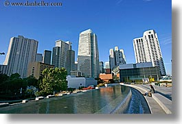 buildings, california, cityscapes, horizontal, san francisco, water, west coast, western usa, yerba buena, photograph