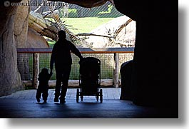 california, childrens, horizontal, people, san francisco, tunnel, walking, west coast, western usa, zoo, photograph