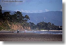 beaches, california, childrens, horizontal, mothers, mountains, santa barbara, west coast, western usa, photograph