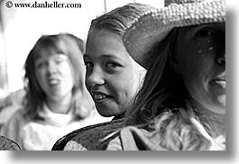 black and white, california, childrens, emotions, girls, horizontal, lindsay, people, santa cruz, smiles, west coast, western usa, photograph