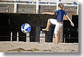 activities, beaches, california, childrens, girls, horizontal, kick, kicking, lindsay, people, santa cruz, west coast, western usa, photograph