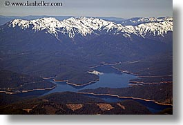 aerials, california, clear, horizontal, lakes, mountains, nature, sierras, snowcaps, west coast, western usa, photograph