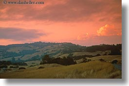 california, horizontal, scenics, sonoma, sunsets, west coast, western usa, photograph