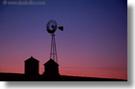 california, horizontal, sonoma, sunsets, west coast, western usa, windmills, photograph