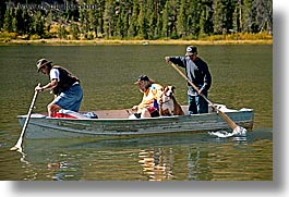 california, dogs, fishermen, fishing, horizontal, lakes, virginia, virginia lakes, west coast, western usa, photograph