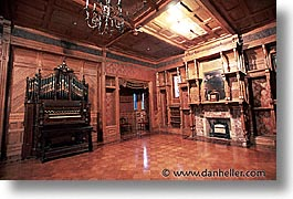 balls, california, horizontal, organ, rooms, west coast, western usa, winchester house, photograph