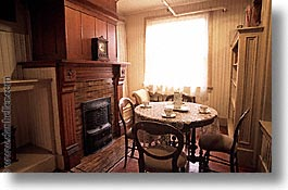 california, fireplace, horizontal, kitchen, west coast, western usa, winchester house, photograph