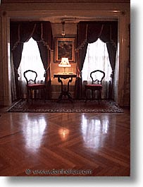 california, rooms, sitting, vertical, west coast, western usa, winchester house, photograph