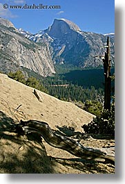 california, half dome, mountains, nature, rockface, vertical, west coast, western usa, yosemite, photograph