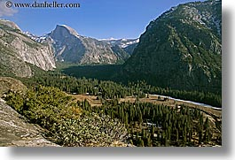 california, half dome, horizontal, mountains, valley, west coast, western usa, yosemite, photograph