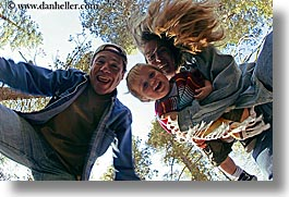 boys, california, childrens, clothes, dans, emotions, families, fathers, fisheye lens, happy, hats, horizontal, jacks, jills, laugh, men, people, toddlers, trees, upview, west coast, western usa, womens, yosemite, photograph