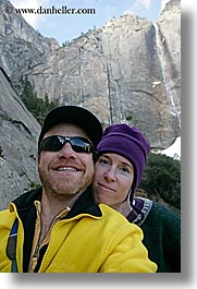 california, couples, dans, jills, people, vertical, west coast, western usa, womens, yosemite, photograph