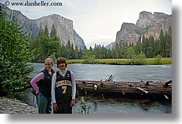 boys, california, chase, horizontal, jills, mothers, mountains, nature, people, rivers, slow exposure, teenagers, water, waterfalls, west coast, western usa, womens, yosemite, photograph