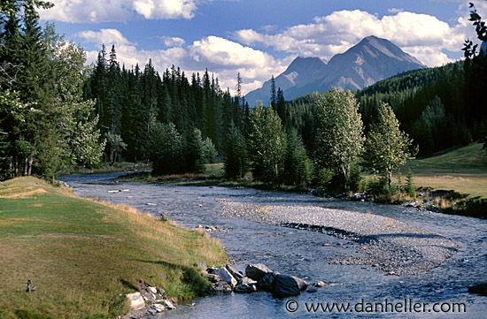 pic of mountains with a stream