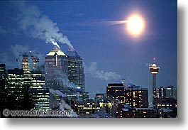 calgary, canada, canadian, horizontal, moon, rockies, photograph