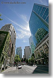 buildings, canada, groups, vancouver, vertical, photograph