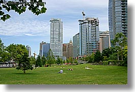 buildings, canada, horizontal, park, vancouver, photograph