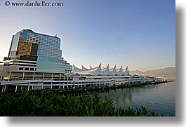 buildings, canada, horizontal, ports, vancouver, photograph