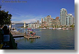 boats, canada, cityscapes, horizontal, vancouver, views, water, photograph