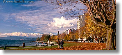 canada, cityscapes, falls, horizontal, panoramic, vancouver, photograph